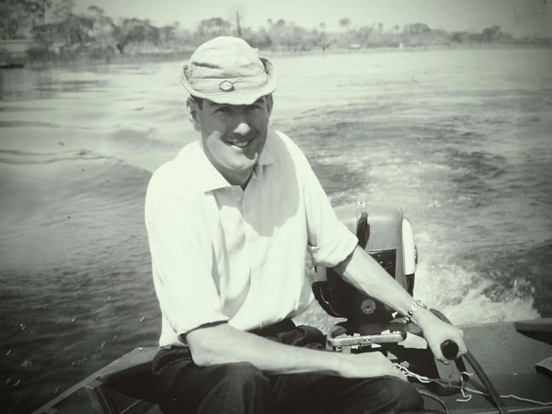 Dave Alston Snr - Shire River Malawi 1967