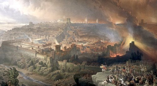 Roman Siege and Destruction of Jerusalem AD70